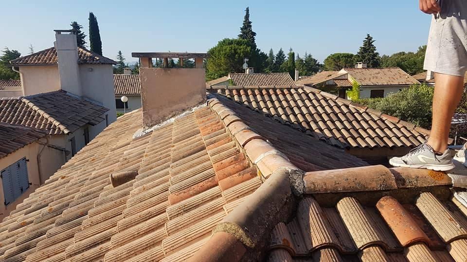 Reparation toiture aix en provence